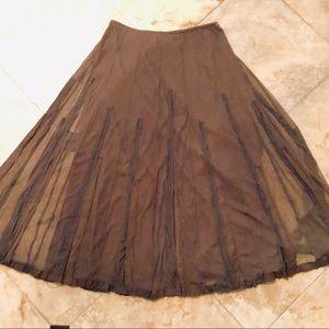 Maxi Skirt - Lined, Embellished